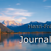 H.-F. Amiel, le journal intime